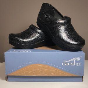 Dansko Professional Black Tooled Clog